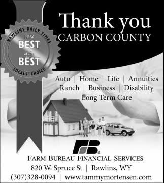 Thank You Carbon County