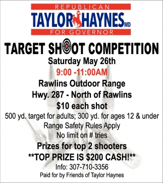 Targte Shoot Competition