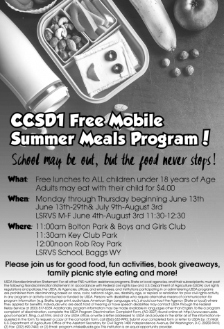 FREE Mobile Summer Meals Program!
