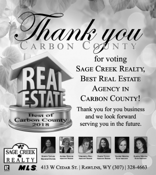 Thank you Carbon County for Voting