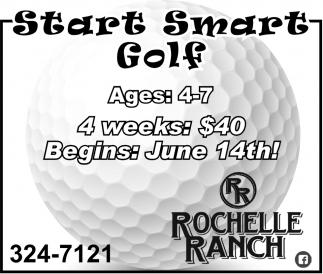 Start Smart Golf
