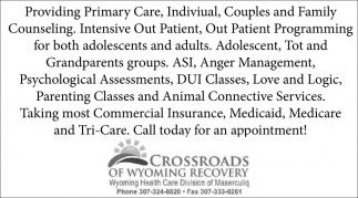 Providing Primary Care
