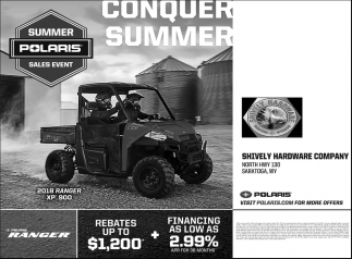 Summer Polaris Sales Event
