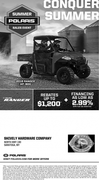 Summer Polaris Sales Event