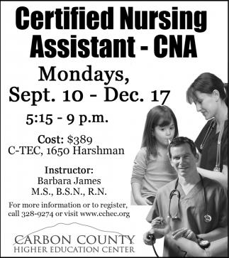 Certified Nursin Assistant - CNA