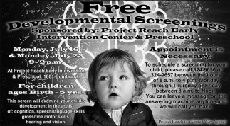 Free Developmental Screenings