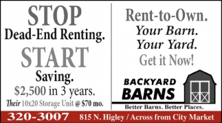 Stop Dead-End Renting. Start Saving!