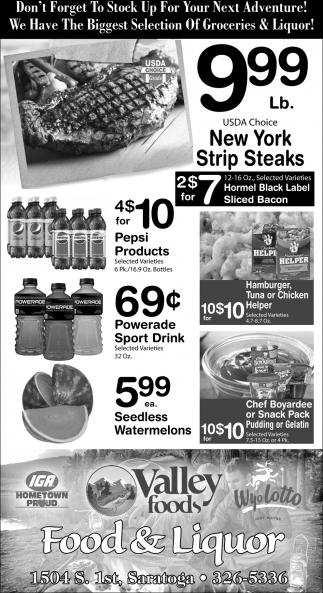 Food & Liquor Store