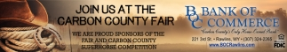 Join us at the Carbon County Fair