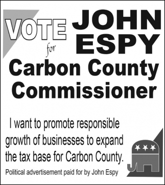 Vote for John Espy