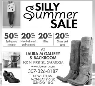 Silly Summer Sale