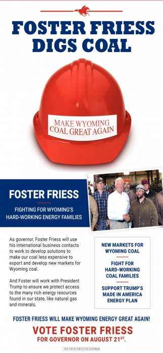 Foster Friess Digs Coal