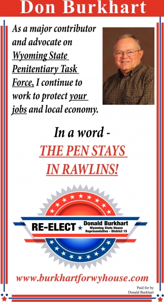 In a word - The Pen Stays in Rawlins