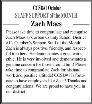 Zach Maes