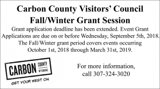Fall/Winter Grant Session