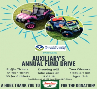 Auxiliary's Annual Fund Drive