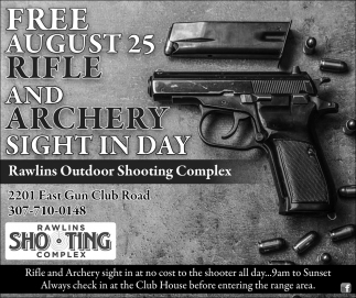 Free Rifle and Archery Sight in Day