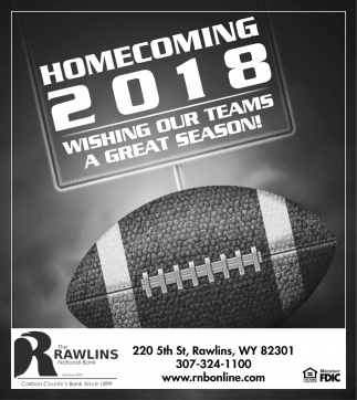 Homecoming 2018 Wishing Our Teams a Great Season!