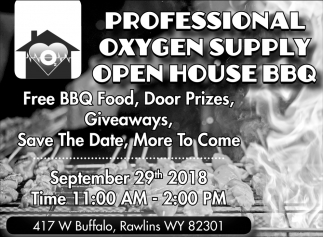 Open House BBQ