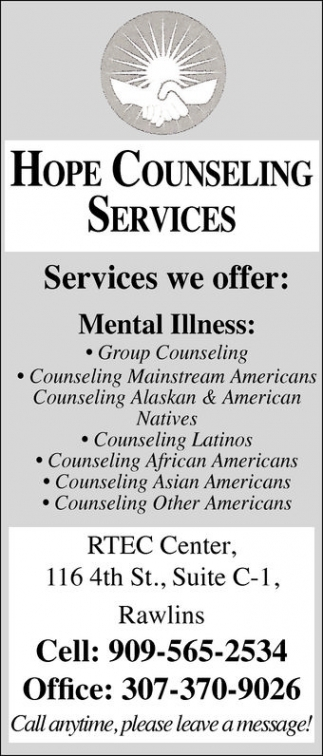 Hope Counseling Services