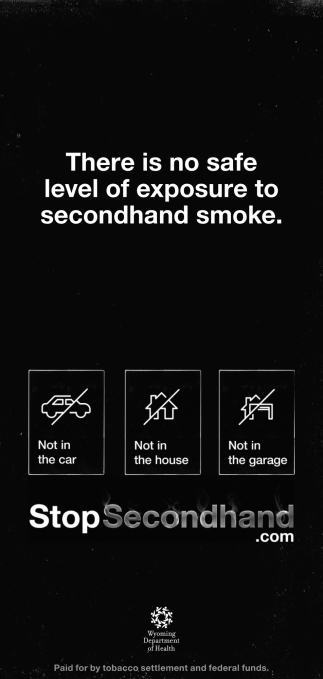 There is no SafeLevel of Exposure to Secondhand Smoke
