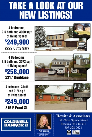 Take a Look at Our New Listings!