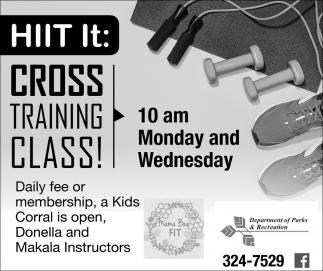 Cross Training Class!
