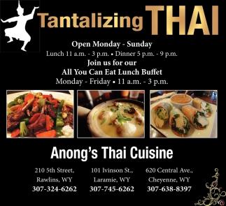 Tantalizing Thai