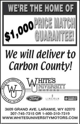 1 000 Price Match Guarantee White S University Motors