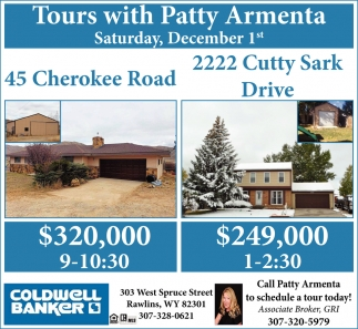 Tours with Patty Armenta