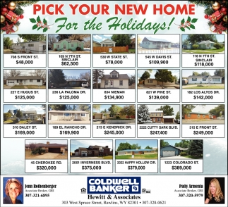 Pick Your New Home