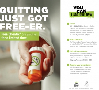 Quitting Just Got Free-er