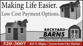 Making Life Easier. Low Cost Payment Options