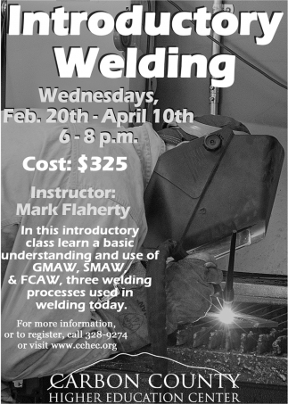 Introductory Welding
