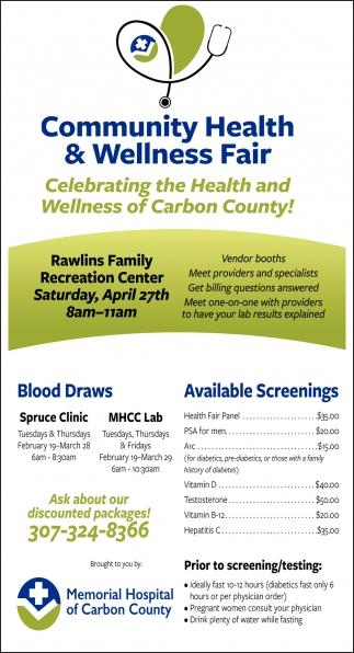 Community Health & Wellness Fair