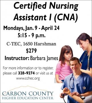 Certified Nursing Assistant l