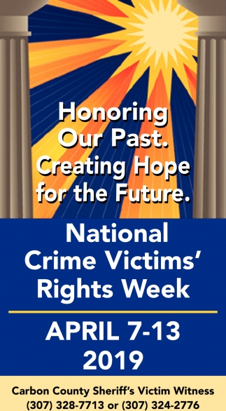 National Crime Victims' Right Week