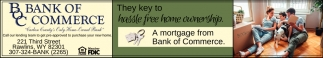 A Mortgage from Bank of Commerce