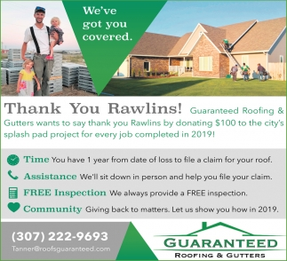 Thank You Rawlins