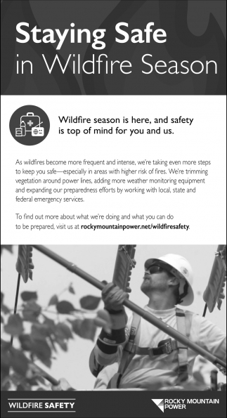 Staying Safe in Wildfire Season