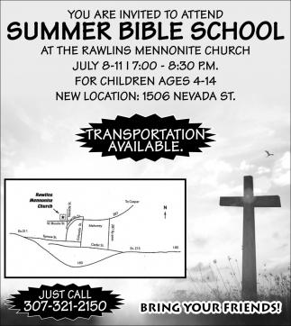 Summer Bible School