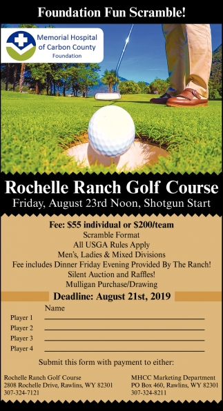 Rochelle Ranch Golf Course
