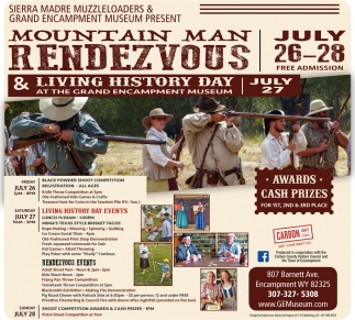 Mountain Man Rendezvous & Living History Day