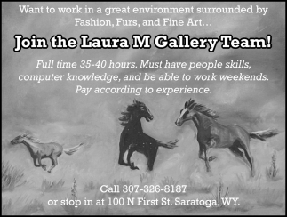 Join the Laura MGallery Team