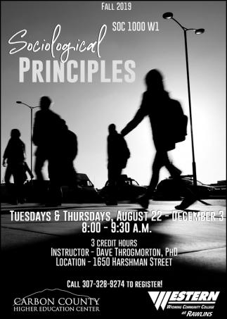 Sociological Principles