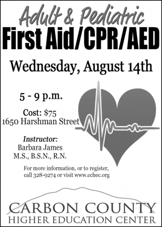 Adult & Pediatric First Aid