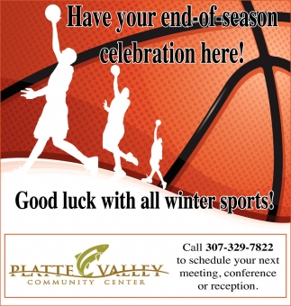 Good Luck with All Winter Sports!