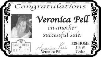 Congratulations Veronica Pell