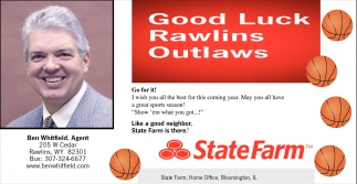 Good Luck Rawlins Outlaws!