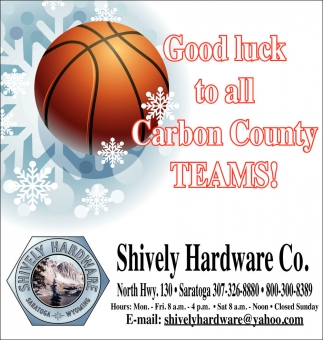 Good Luck to all Carbon County TEAMS!